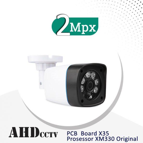 دوربین مداربسته بولت AHD ، کیفیت 2 مگاپیکسل مدل DiR402 B30 سنسورPCB X35 با پردازنده XM330 Orginal