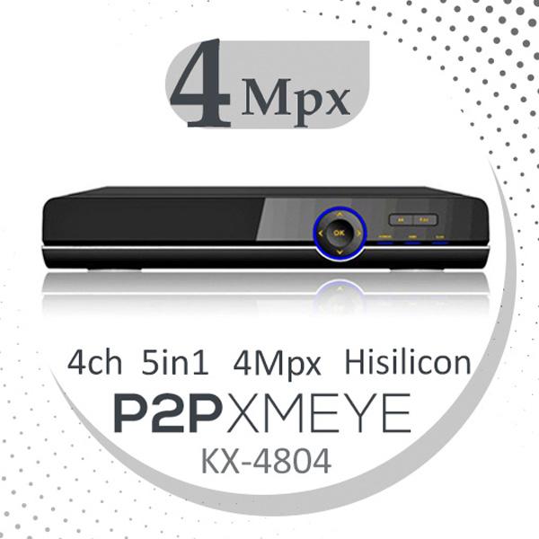 دستگاه ضبط و پخش دوربین مداربسته مدل KX-4804